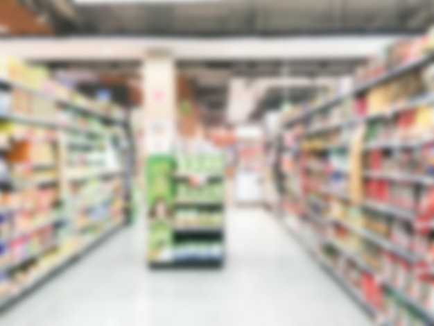 Rozmycie w supermarkecie Darmowe Zdjęcia