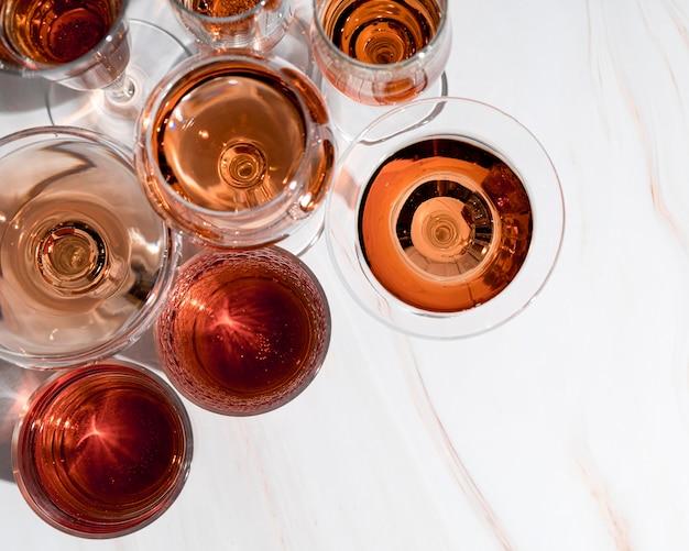 Różne Napoje Alkoholowe W Szklankach Darmowe Zdjęcia