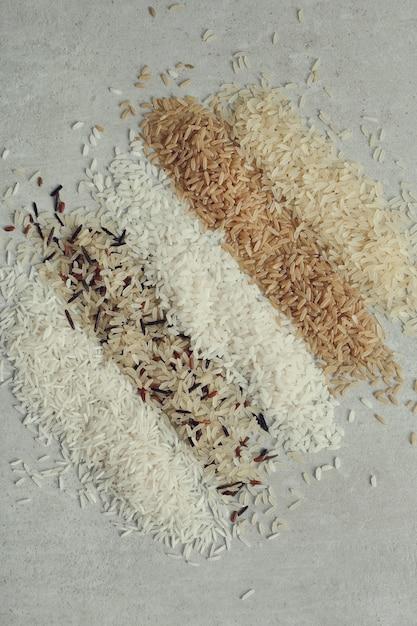 Różne Rodzaje Ryżu Darmowe Zdjęcia