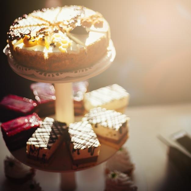 Różne Smaczne Ciasta Premium Zdjęcia