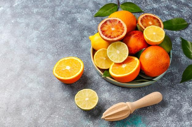Różne świeże Owoce Cytrusowe Darmowe Zdjęcia
