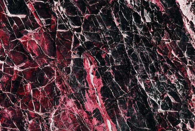 Różowa I Czarna Kamienna Tekstura Premium Zdjęcia