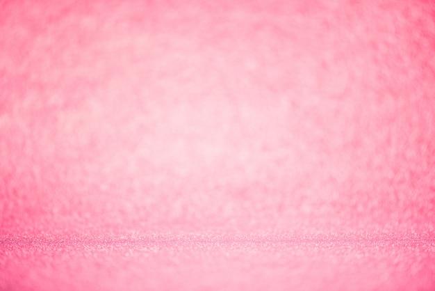 Różowy bokeh oświetlenie zamazany abstrakcjonistyczny tło dla rocznicy, ślubu, walentynki Premium Zdjęcia