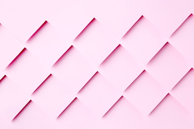 Różowy Papier Kształtuje Projekt Tła Premium Zdjęcia