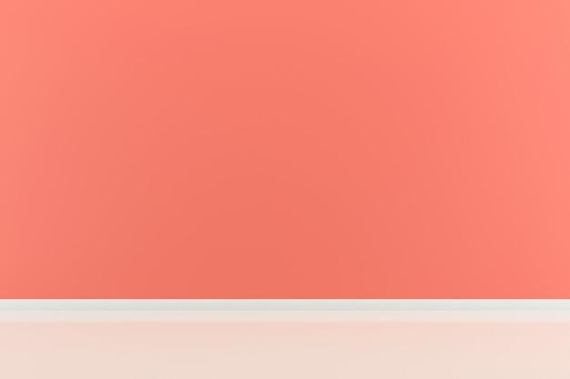 Różowy pastelowe wnętrze pokoju tło Premium Zdjęcia