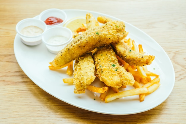 Ryby I Chip Z Frytkami Darmowe Zdjęcia