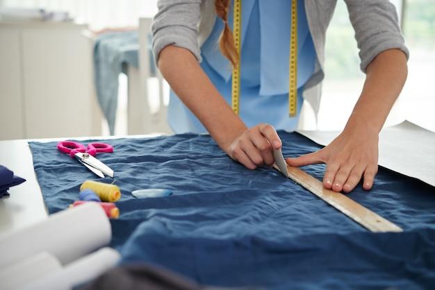 Rysowanie na tkaninie Darmowe Zdjęcia