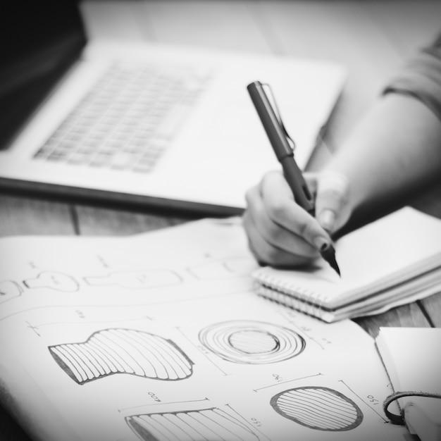 Rysowanie Pomysłów Handy Concept Model Craftsman Darmowe Zdjęcia