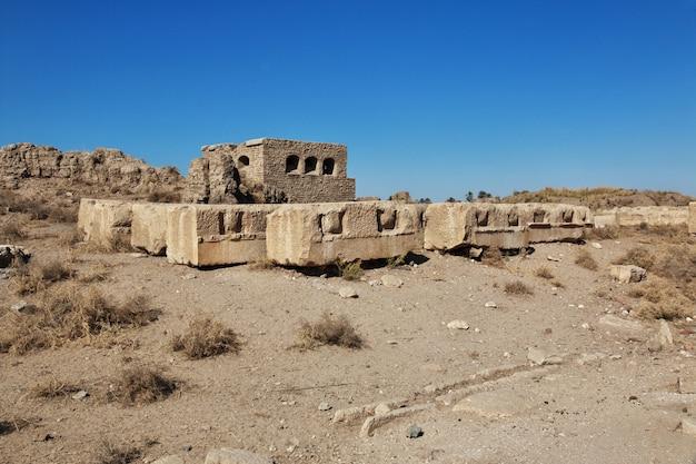 Rzymskie ruiny w el minya, egipt Premium Zdjęcia