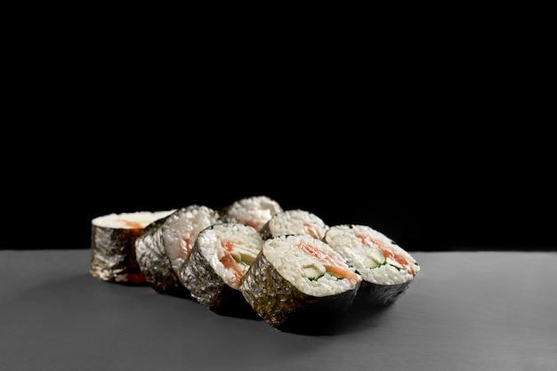 Sake Maki Z Kappą. Premium Zdjęcia