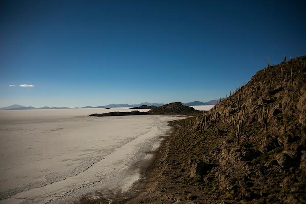 Salar Big Uyuni W Cordillera Real, Andach, Boliwii Premium Zdjęcia
