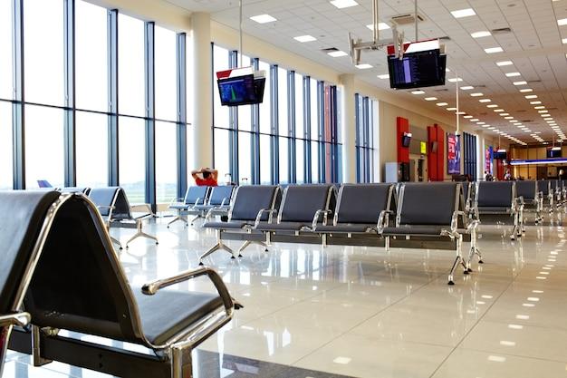 Salon Na Lotnisku Premium Zdjęcia