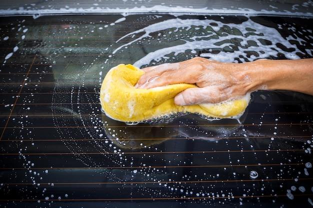 Samochód Do Mycia Rąk Premium Zdjęcia