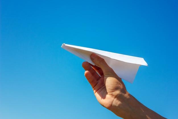 Samolot Z Papieru Premium Zdjęcia