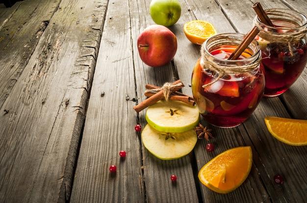 Sangria Jesienno-zimowa Premium Zdjęcia