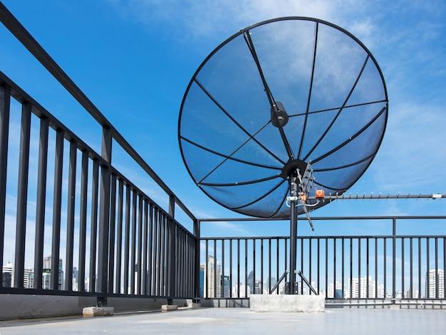 Satelita Na Dachu Premium Zdjęcia