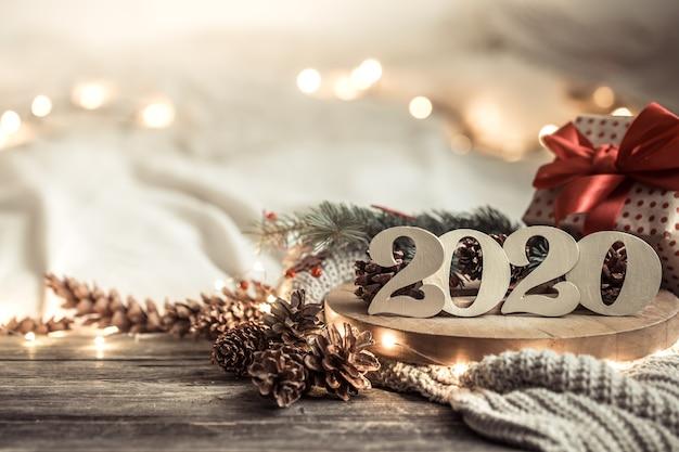 Ściany świąteczne Numery Nowego Roku 2020. Darmowe Zdjęcia
