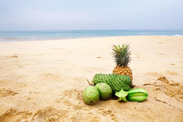 Seascape Z Owocami Premium Zdjęcia