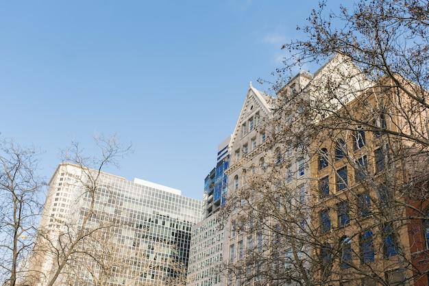 Seattle, Waszyngton, Usa. Budynki Na Pionierskim Placu Premium Zdjęcia
