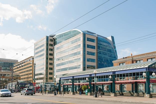 Seattle, Waszyngton, Usa. Teren Dworca Pkp Premium Zdjęcia