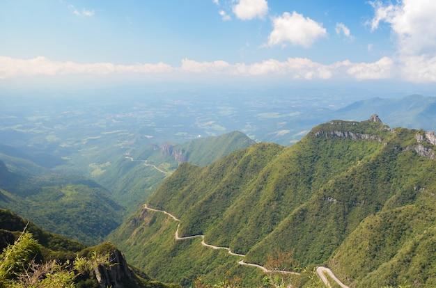 Serra Do Rio Do Rastro Route Sierra Szlaku Rzeki Santa Catarina W Brazylii Premium Zdjęcia