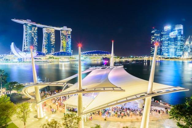 Singapur skyline Darmowe Zdjęcia