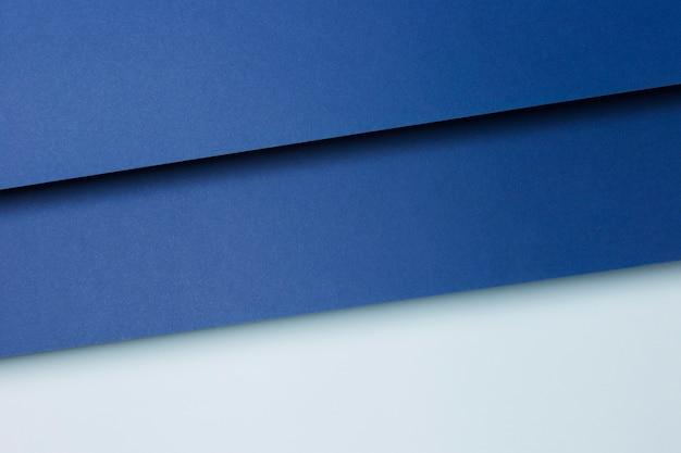 Skład Błękitnego Papieru Prześcieradeł Tło Premium Zdjęcia