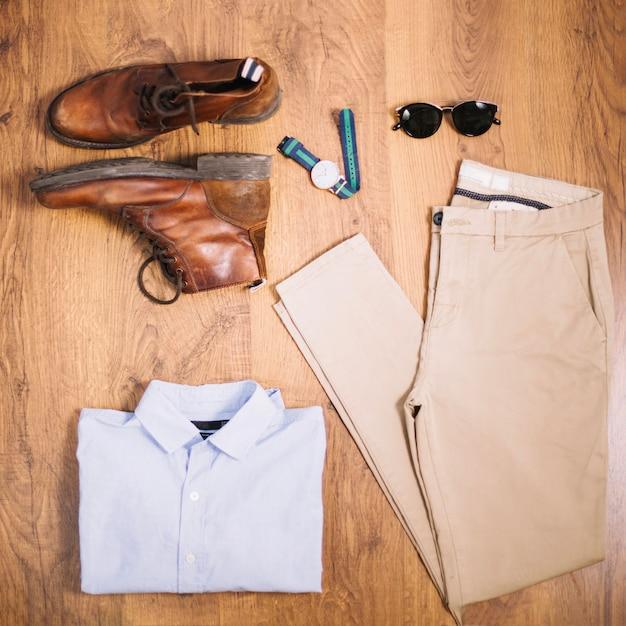 Skład mężczyzn ubrania i buty Darmowe Zdjęcia