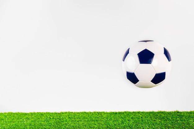 Skład Piłki Nożnej Z Copyspace Premium Zdjęcia