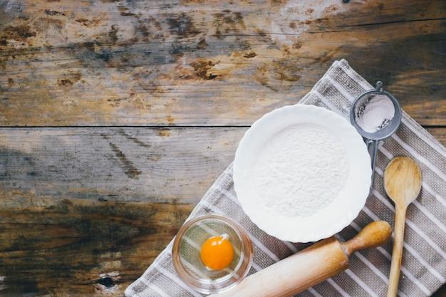 Składniki do pieczenia ciast Darmowe Zdjęcia