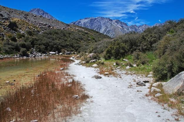 Śledzenie na lodowcu tasman, nowa zelandia, Premium Zdjęcia
