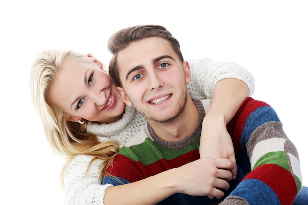 Śliczna Para Kocha Się Nawzajem Darmowe Zdjęcia