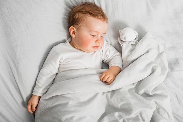 Słodkie śpiące dziecko Darmowe Zdjęcia
