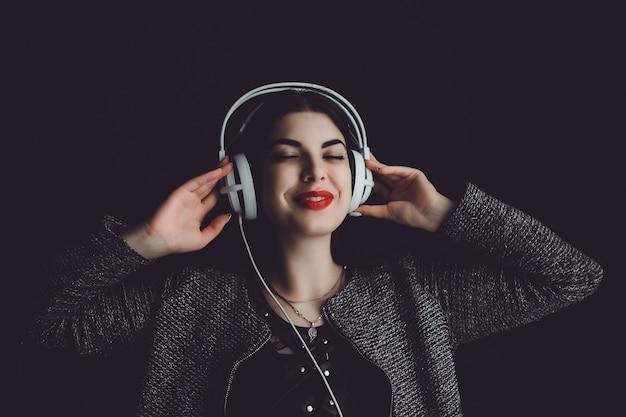Słuchawki kobiety Darmowe Zdjęcia