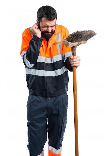 Śmieciarz Zakrywający Uszy Darmowe Zdjęcia