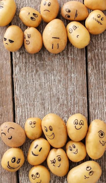 Śmieszne Ziemniaki Darmowe Zdjęcia