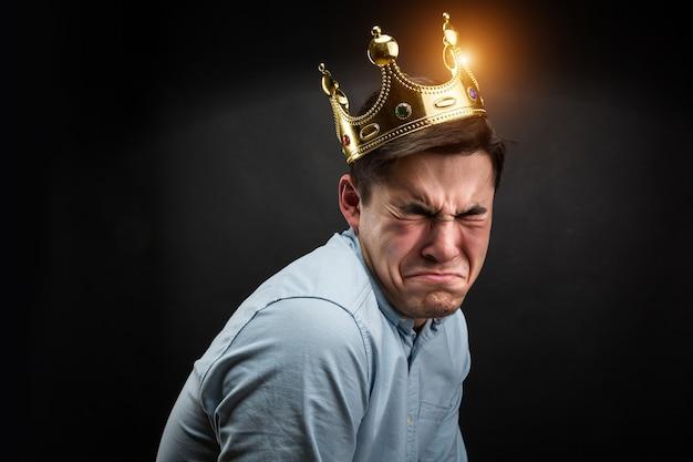 Smutny Książę Premium Zdjęcia