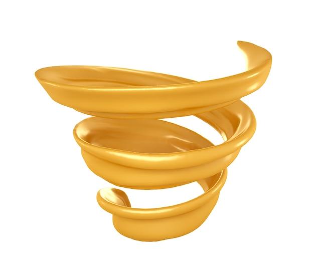 Splash Spirala Karmelu. Premium Zdjęcia