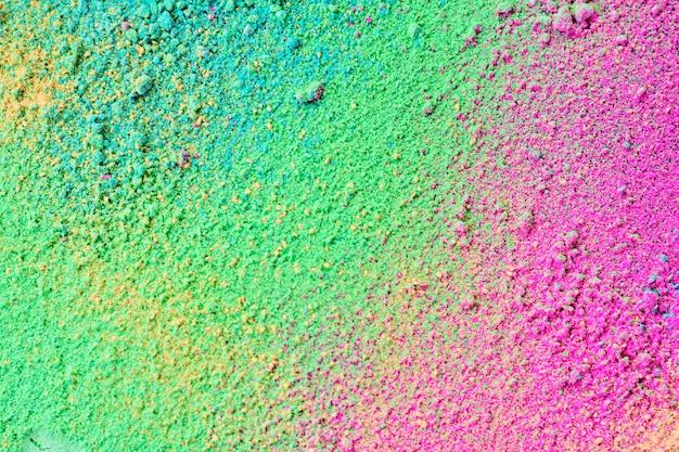 Splatter pastelowego naturalnego barwnego proszku Premium Zdjęcia