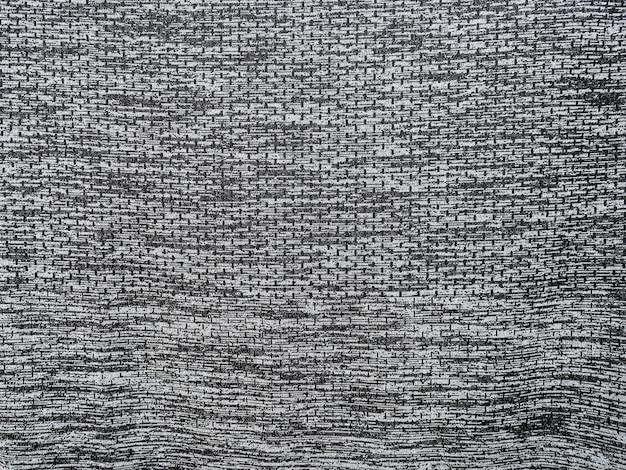 Sport tkaniny tekstury tła, czarno-białe zużycie sportu tła Premium Zdjęcia