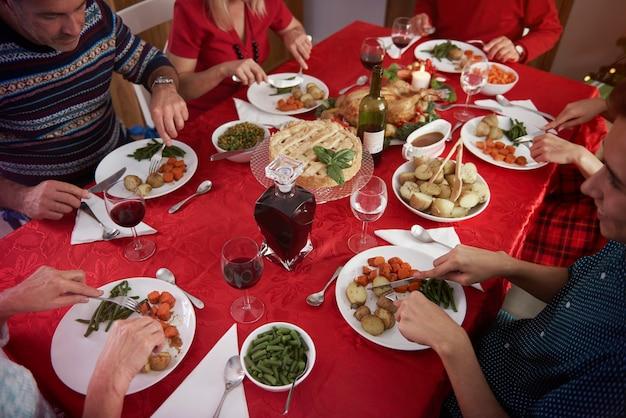 Spotkanie Rodzinne W Okresie świątecznym Darmowe Zdjęcia