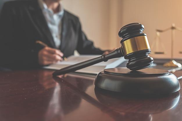 Sprawiedliwość I Prawo. Premium Zdjęcia