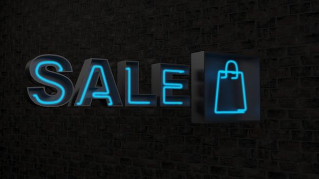 Sprzedaż Niebieskie Słowo Na Czarnej Powierzchni Darmowe Zdjęcia