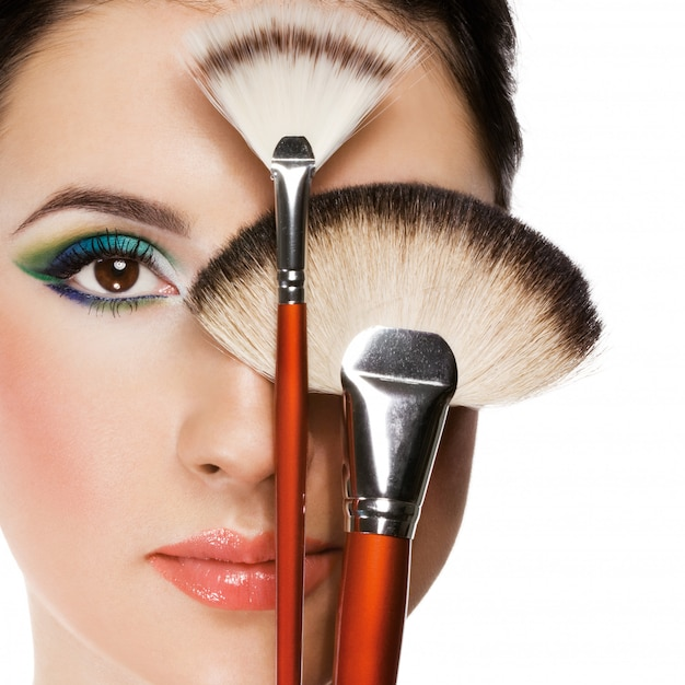Sprzęt do makijażu Premium Zdjęcia