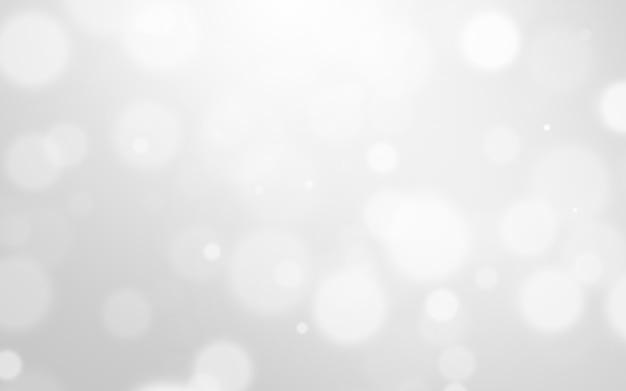 Srebny lekki i biały bożego narodzenia tło z plamy bokeh piękną teksturą. blask blask Premium Zdjęcia