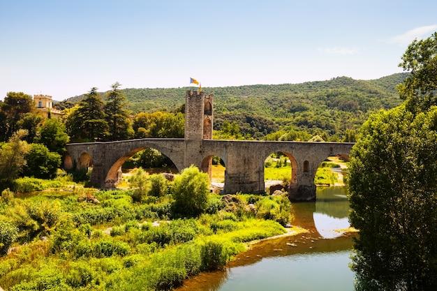 Średniowieczny Most. Besalu, Darmowe Zdjęcia