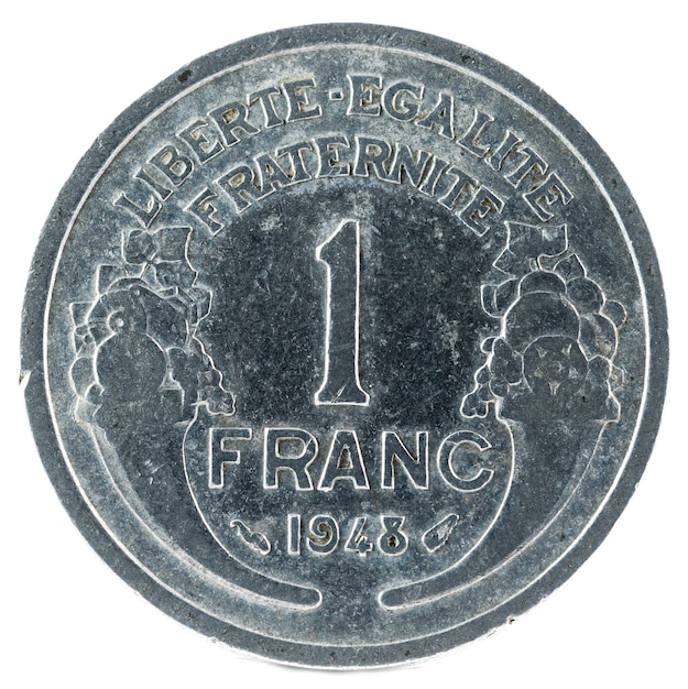 Stara Moneta Francuska. Premium Zdjęcia