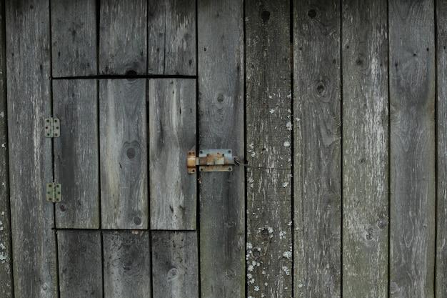 Stare Brązowe Miejsce Na Drewno Wykonane Z Ciemnego Naturalnego Drewna W Stylu Grunge Premium Zdjęcia