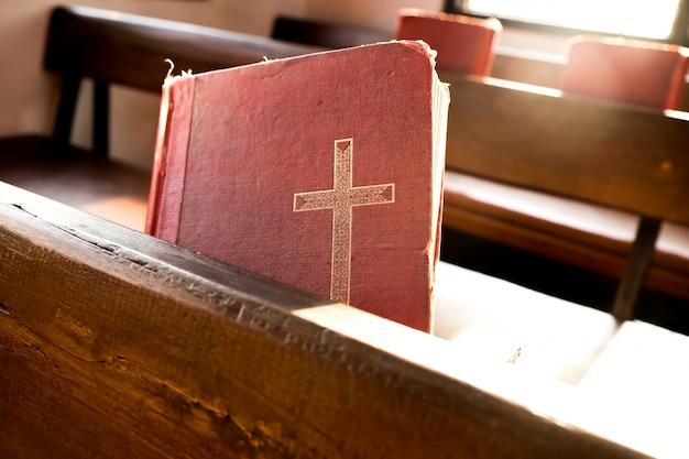 Stare Czerwone Książki Lub Czerwone Pieśni Poświęcone Kultu W Kościele Darmowe Zdjęcia