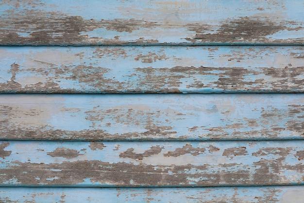 Stare Kawałki Drewna Tekstury Powierzchni Tła I Jasnoniebieskiego Koloru Otarcia Z Natury Premium Zdjęcia